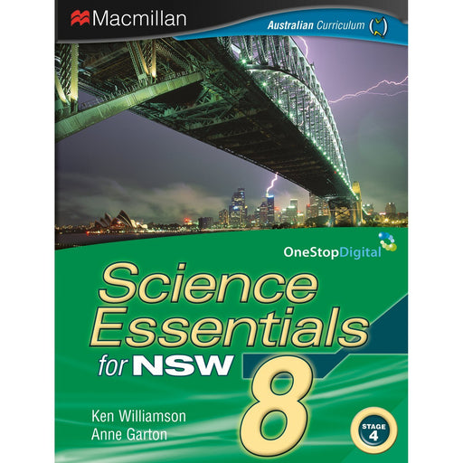 Science Essentials NSW 8 Student Book + Digital