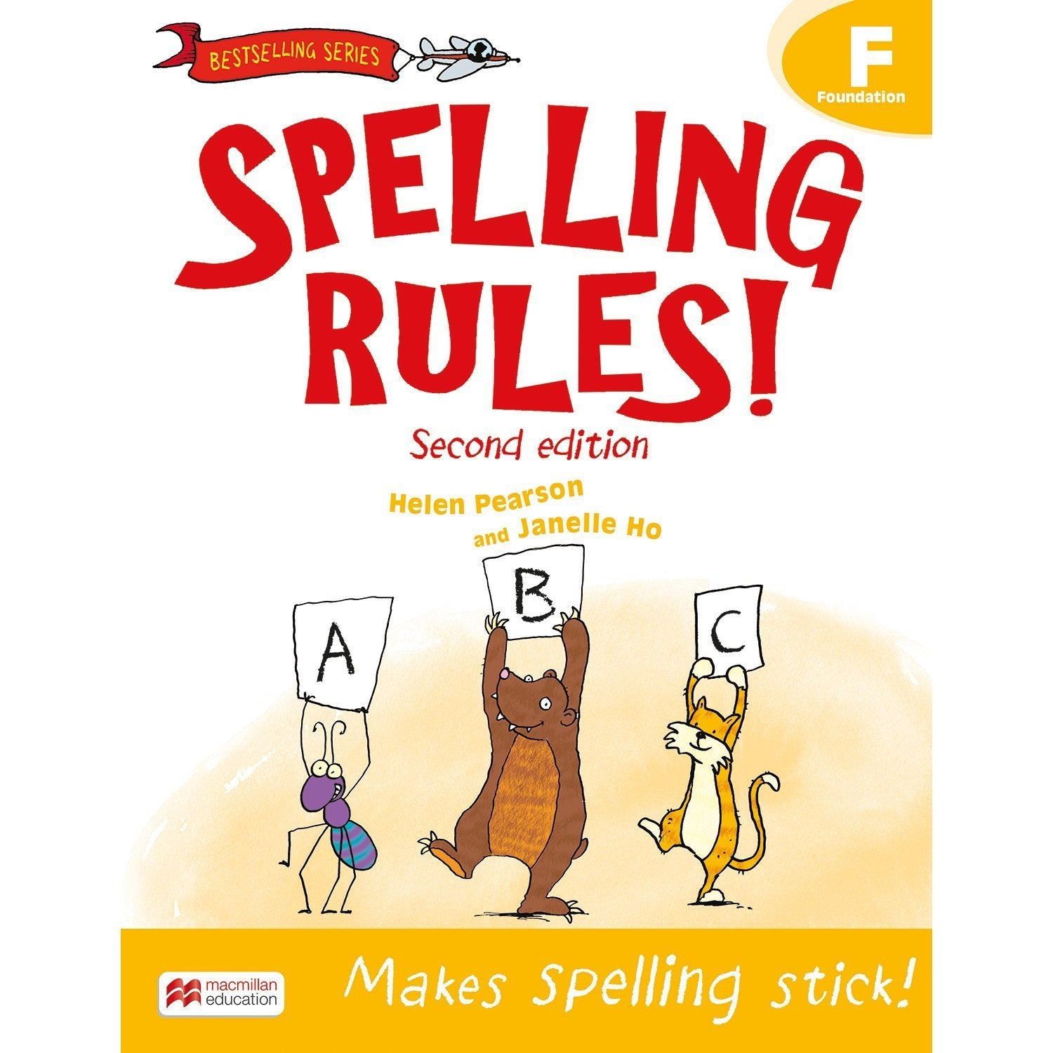 Spelling Rules! 2nd Edition Book F