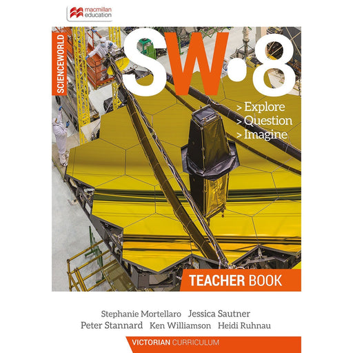 ScienceWorld Victorian Curriculum 8 Teacher Book + Digital