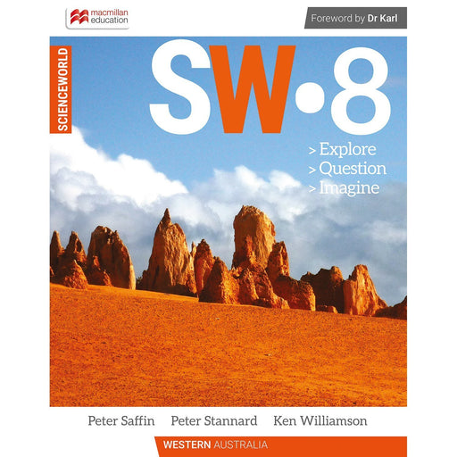ScienceWorld Western Australian Curriculum 8 Student Book + Digital