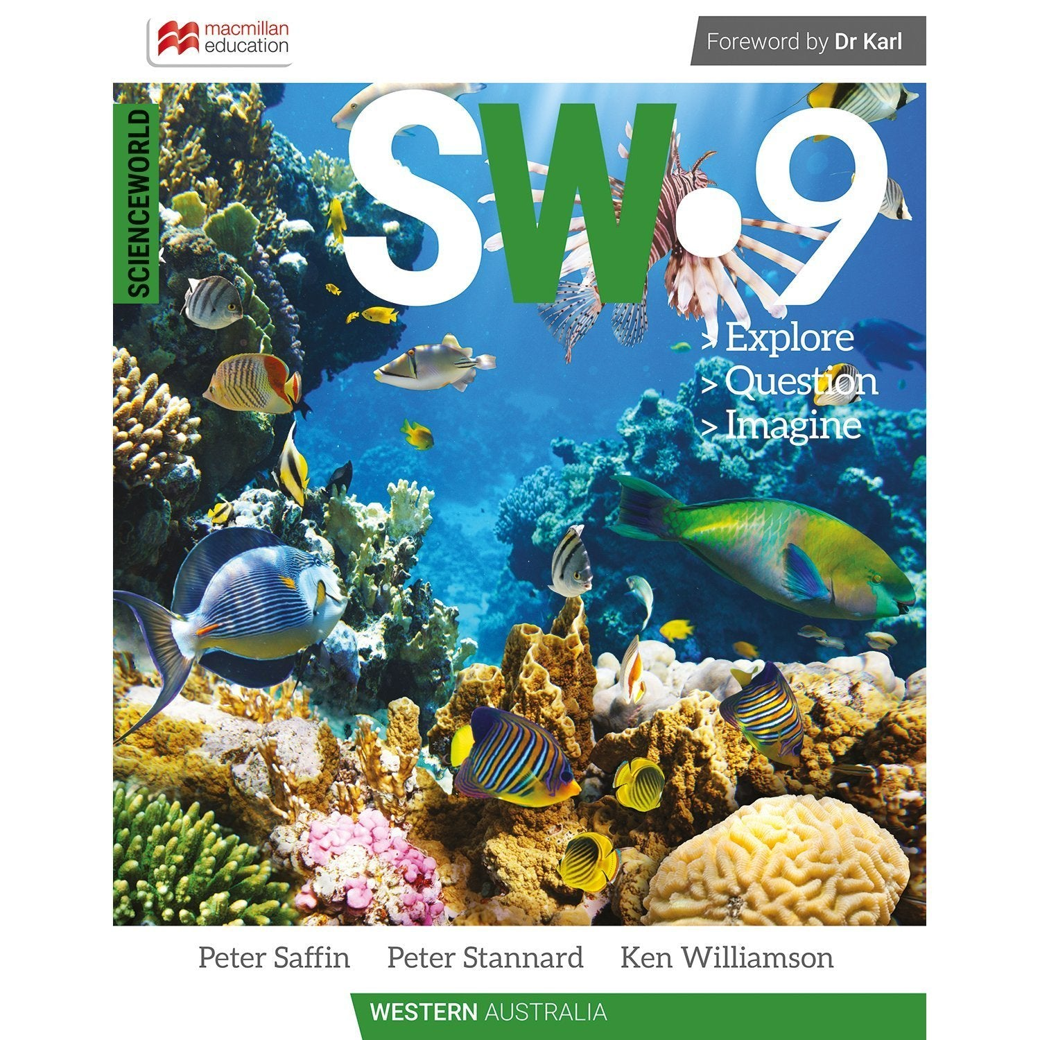 ScienceWorld Western Australian Curriculum 9 Student Book + Digital