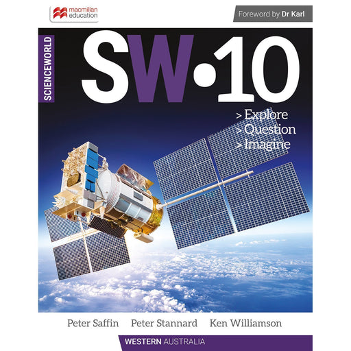 ScienceWorld Western Australian Curriculum 10 Student Book + Digital