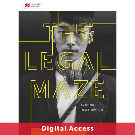 The Legal Maze 9E VCE Units 1&2 Teacher Digital Access