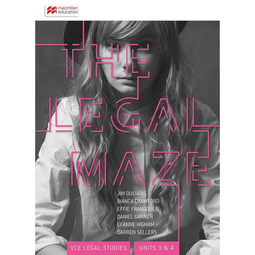The Legal Maze VCE Units 3&4 Student Book + Digital