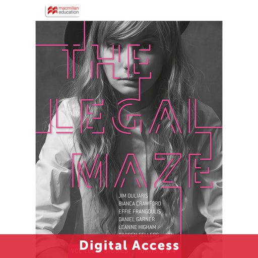 The Legal Maze 9E VCE Units 3&4 Student Digital access