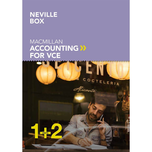 Macmillan Accounting VCE Units 1&2 6E Student Book + Digital