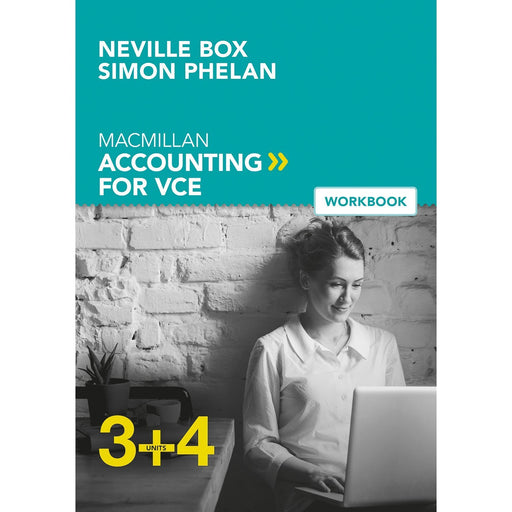 Macmillan Accounting VCE Units 3&4 6E Student Workbook