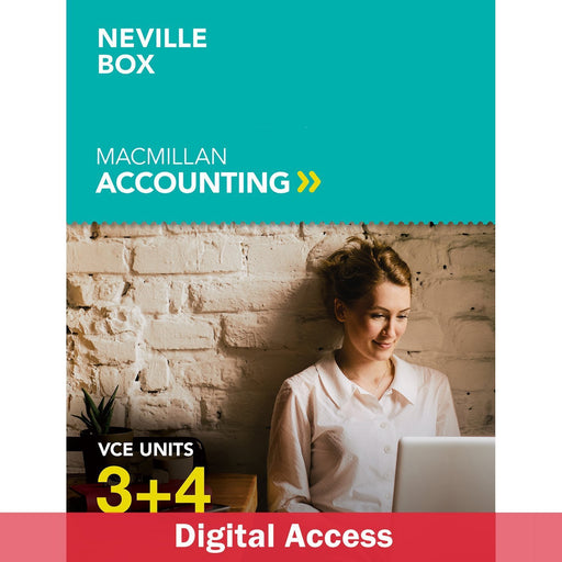 Macmillan Accounting VCE Units 3&4 6E Teacher Digital Access