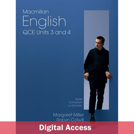 Macmillan English QCE Units 3&4 Student Digital access