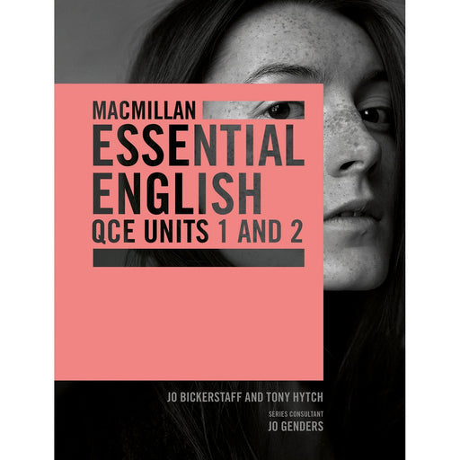 Macmillan Essential English QCE Units 1&2 Student Book + Digital