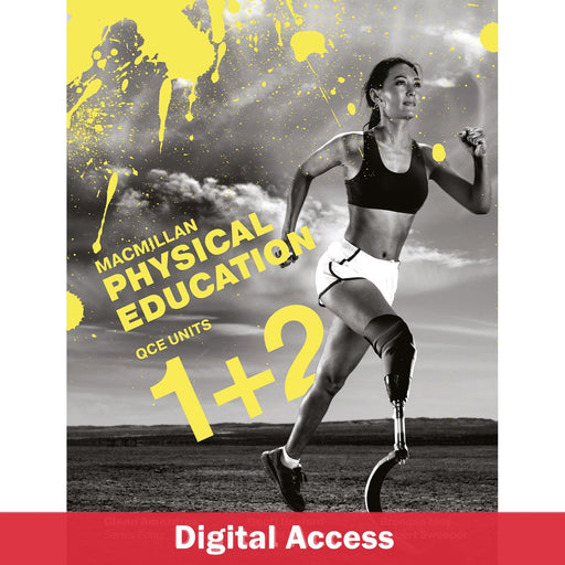 Macmillan Physical Education QCE Units 1&2 Student Book 1-Year Reactivation Code