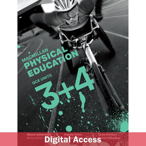 Macmillan Physical Education QCE Units 3&4 Teacher Digital access