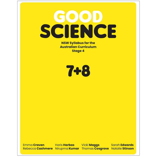 Good Science NSW Syllabus Stage 4 Student Book + Digital