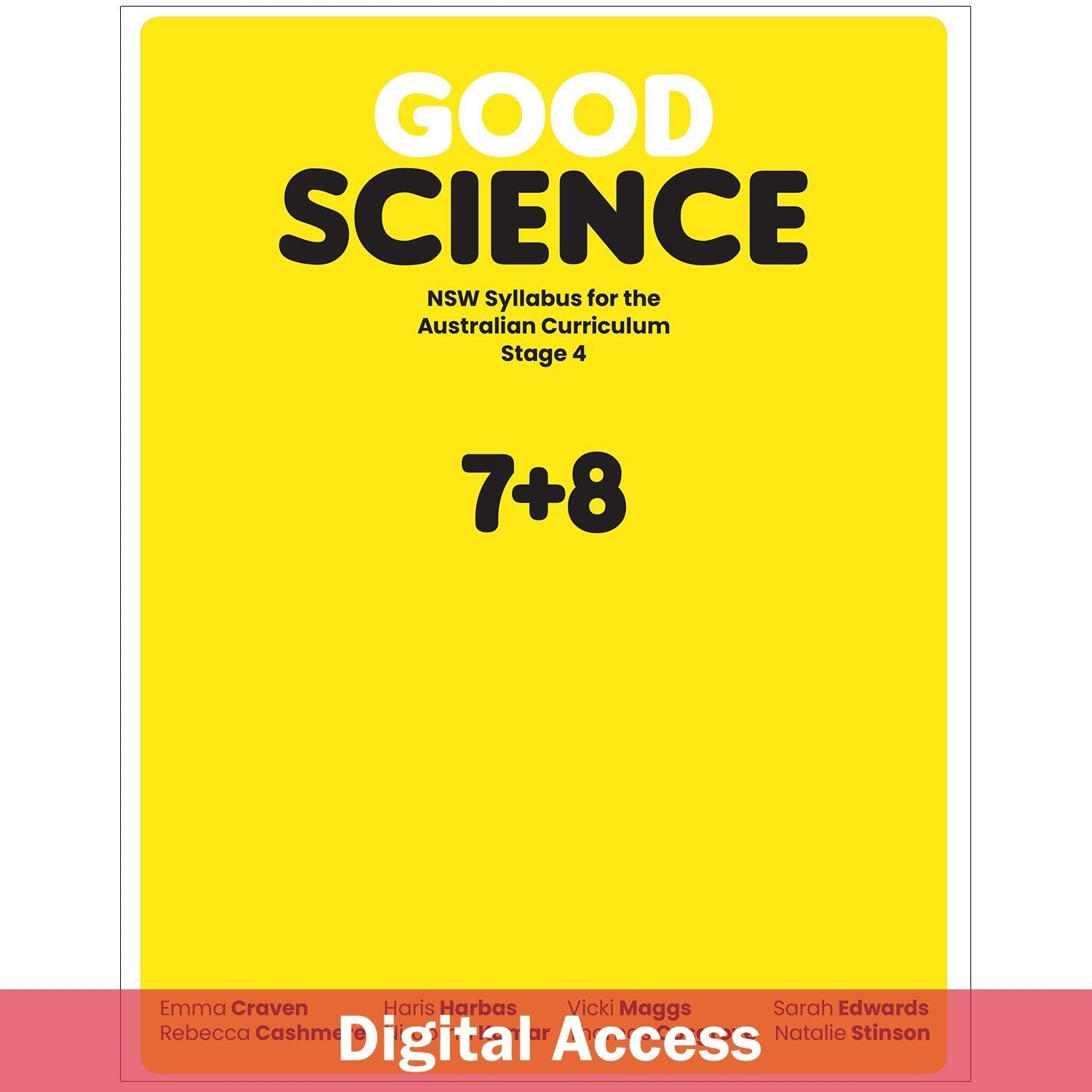 Good Science NSW Syllabus Stage 4 Student Digital Access