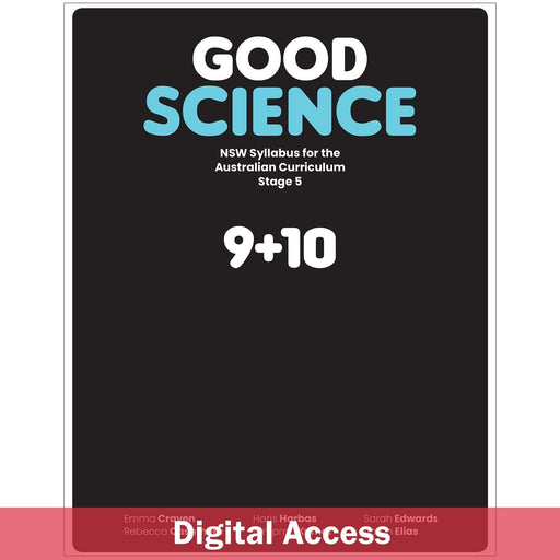 Good Science NSW Syllabus Stage 5 Teacher Digital Access