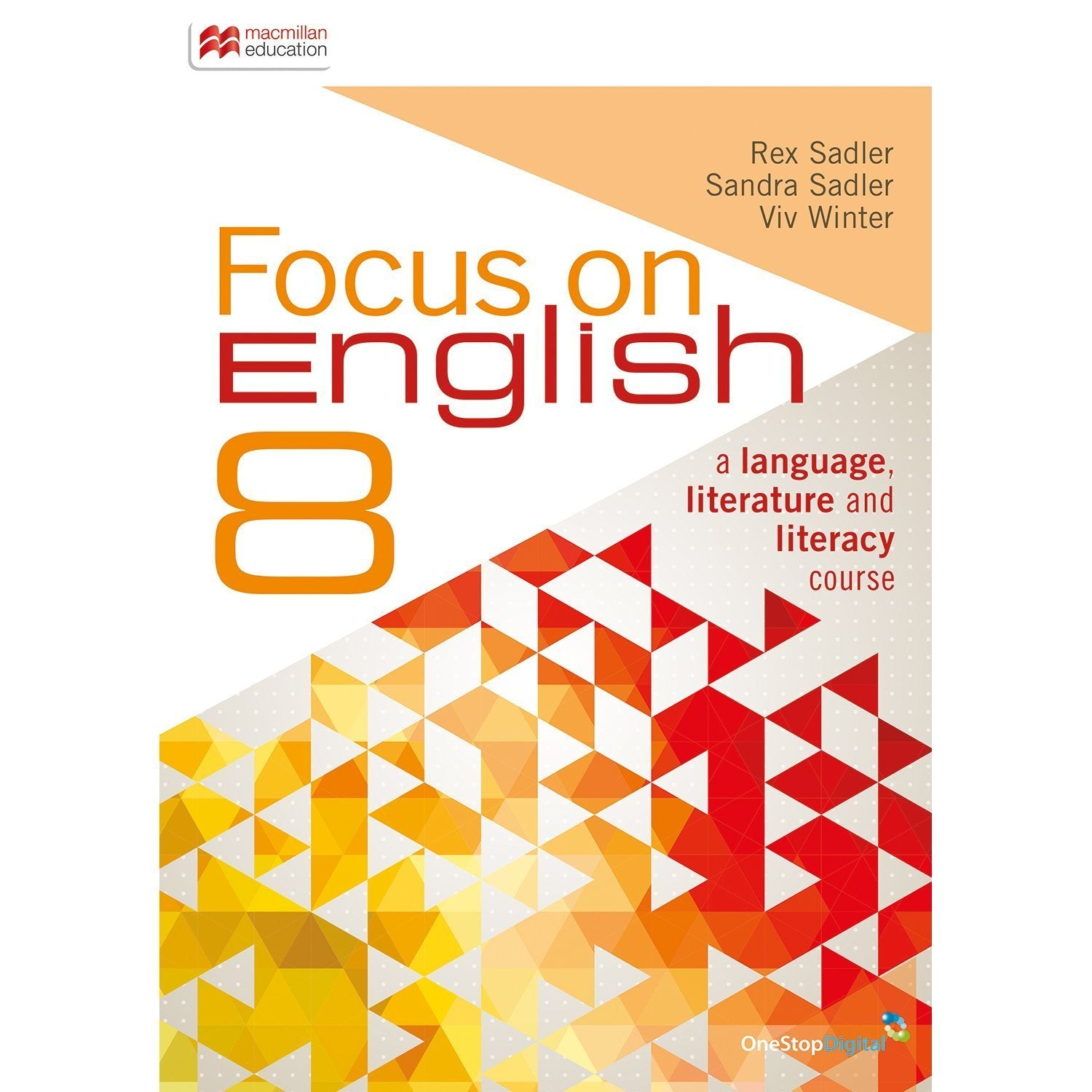 Focus on English 8 Student Book + Digital