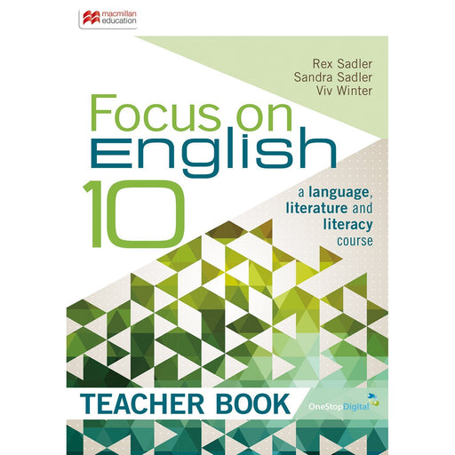 Focus on English 10 Teacher Book
