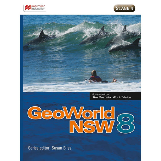 GeoWorld NSW 8 Student Book + Digital