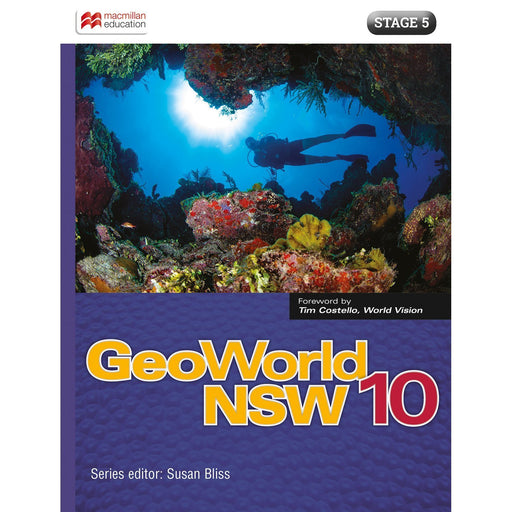GeoWorld NSW 10 Student Book + Digital