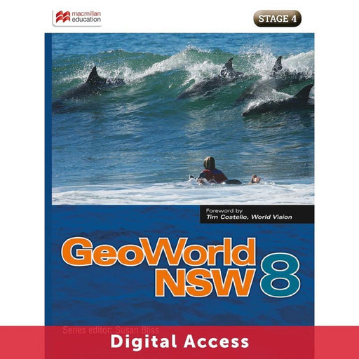 GeoWorld NSW 8 Student Digital access