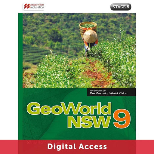 GeoWorld NSW 9 Student Digital access