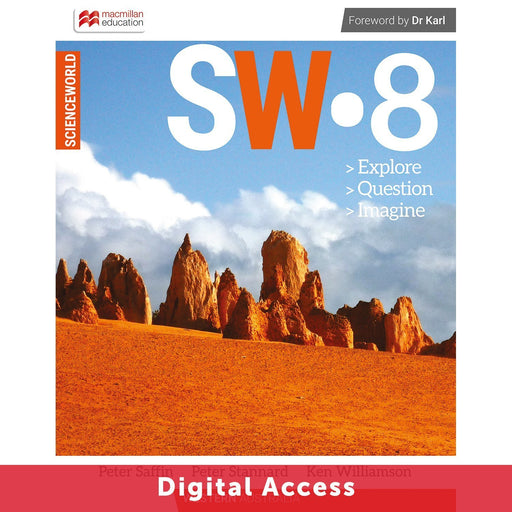 ScienceWorld Western Australian Curriculum 8 Teacher Digital Access