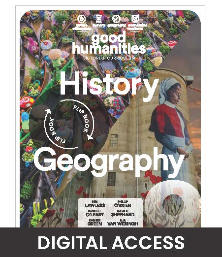 Good Humanities 9 Victorian Curriculum Teacher Digital Access