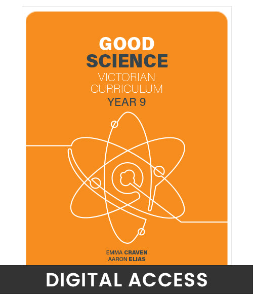 Good Science Victorian Curriculum 9 Student Digital Access
