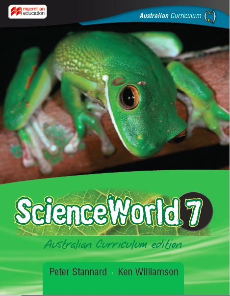 ScienceWorld Australian Curriculum 7 Student Book + Digital