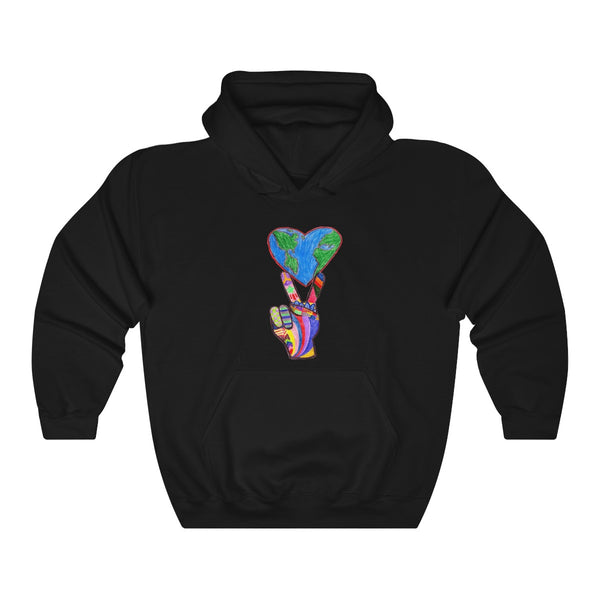 Unisex Heavy Blend™ Hooded Sweatshirt - World Peace From Racism