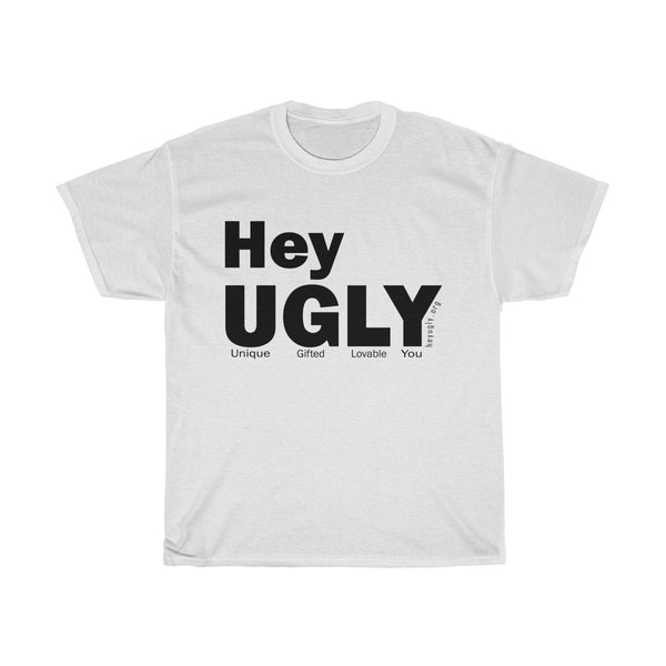 Unisex Heavy Cotton Tee - heyuglyGEAR