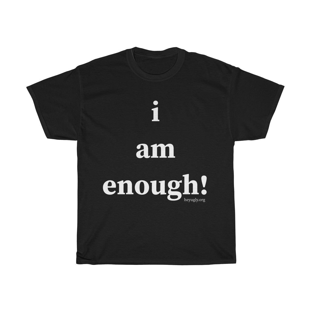 Unisex Heavy Cotton Tee - i am enough!