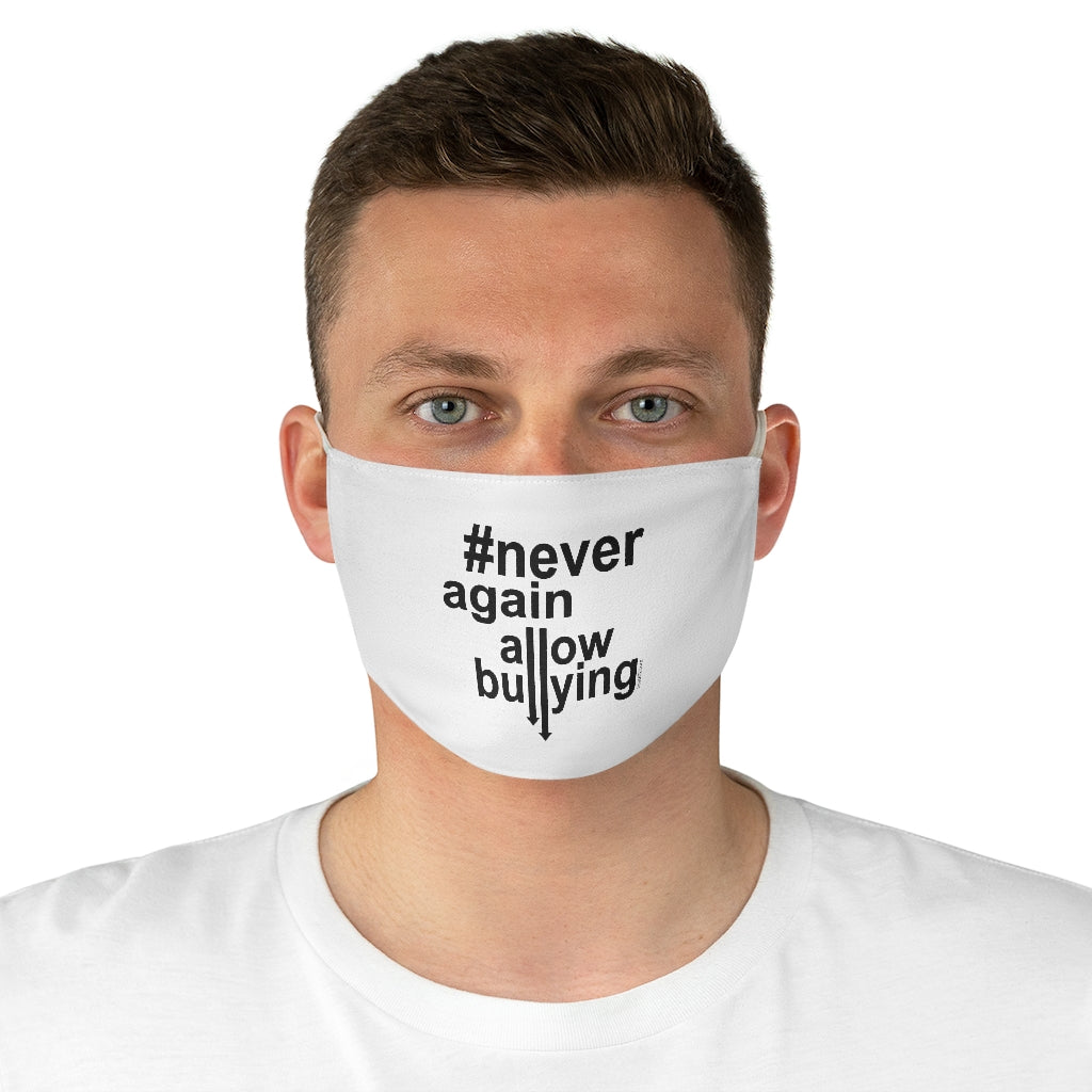 Fabric Face Mask - #Never Again Allow Bullying
