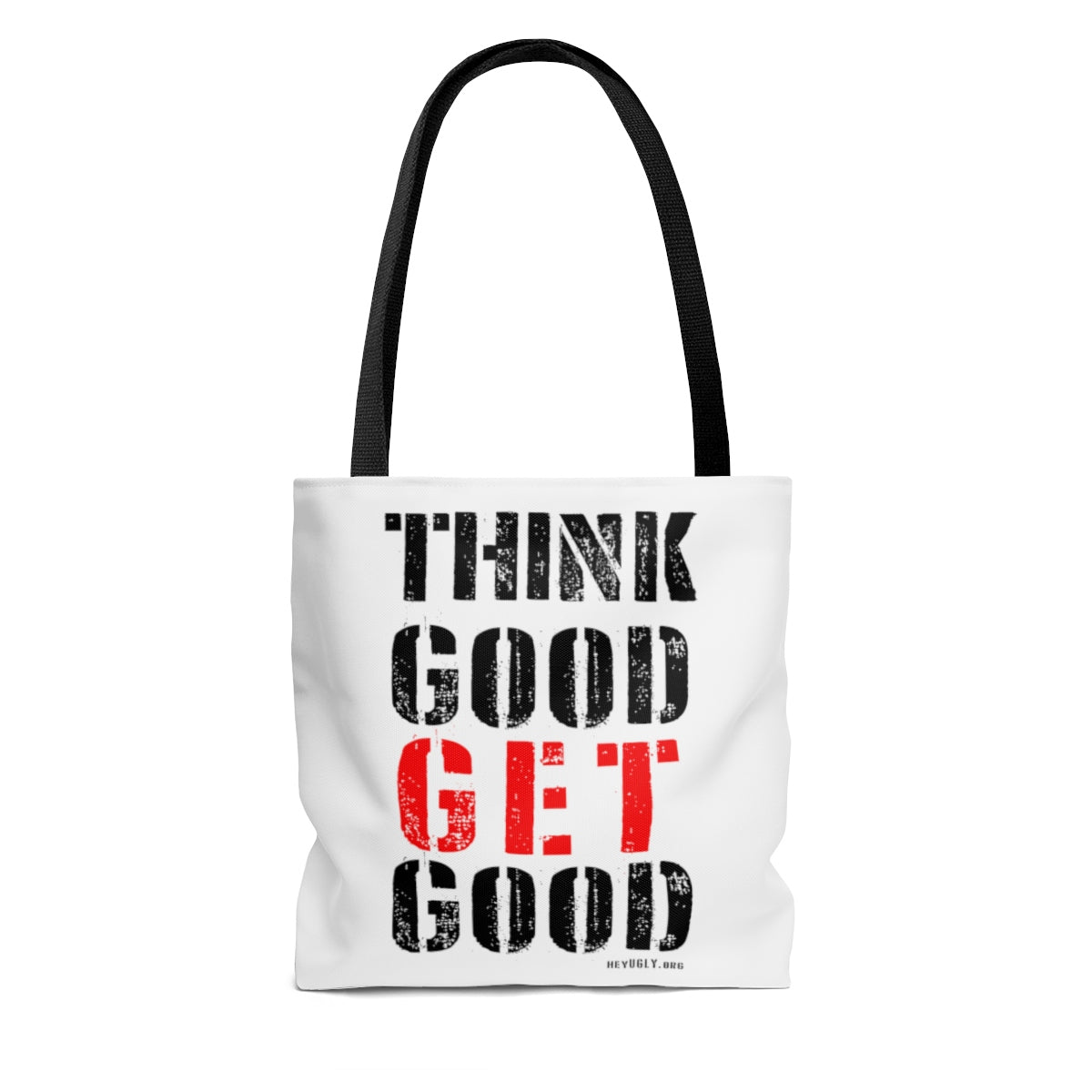 AOP Tote Bag - Think Good Get Good