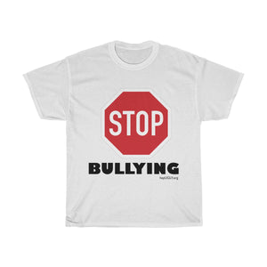 Unisex Heavy Cotton Tee - STOP BULLYING