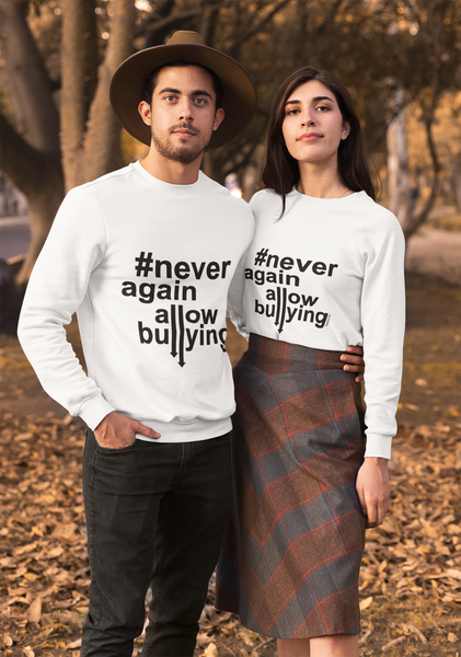 Ultra Cotton Long Sleeve Tee - Never Again Allowing Bullying