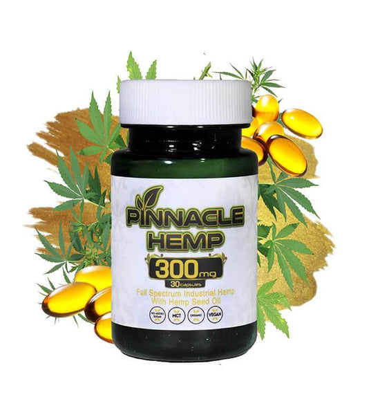Pinnacle Hemp Capsules 300mg