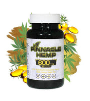 Pinnacle Hemp Capsules 600mg