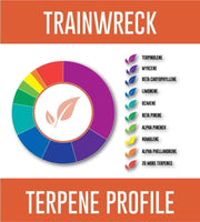 trainwreck terpene wheel