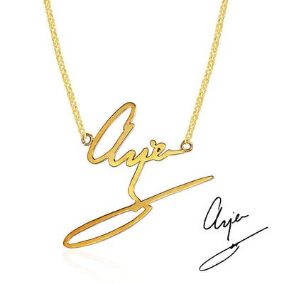 CUSTOM SIGNATURE NECKLACE