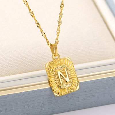 ELEGANT INITIAL NECKLACE