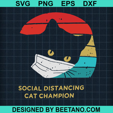Social Distancing Cat Champion