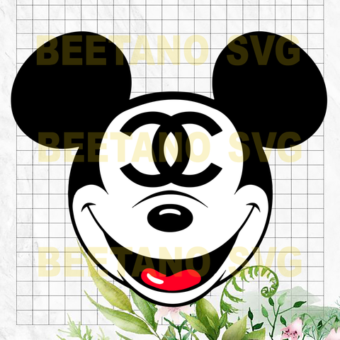 Channel Mickey Mouse Svg