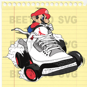 Super Mario Svg, Super Mario Cutting Files, Super Mario Clipart, Super Mario Cutting Files For Cricut, SVG, DXF, EPS, PNG Instant Download