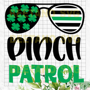 Pinch Patrol Cutting Files For Cricut, SVG, DXF, EPS, PNG Instant Download