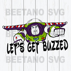 Let's get buzzed Svg, Svg Files For Cricut, SVG, DXF, EPS, PNG Instant Download