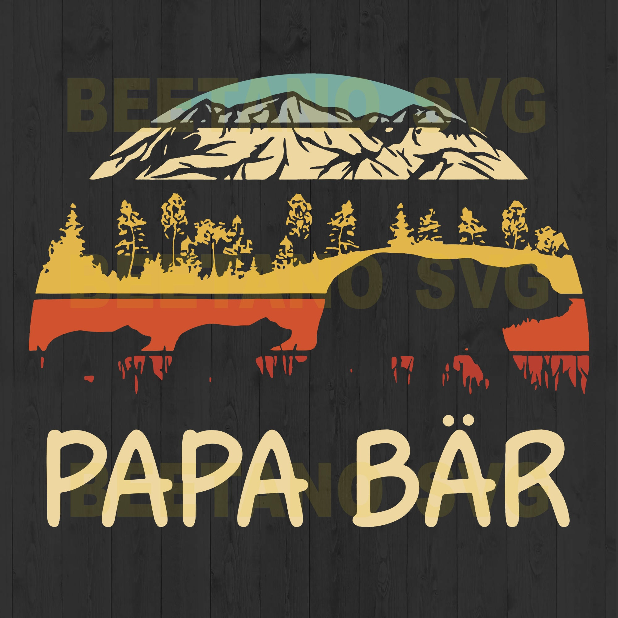 Papa Bar Bear Family
