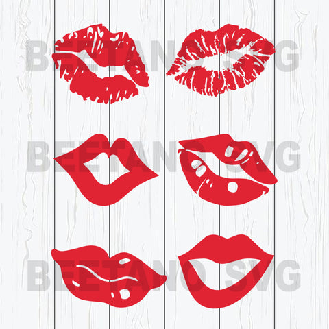 Lips Svg, Lips Bundle Svg Files, Lips Cricut Files, Red Lips Svg Bundle, Lips Svg Bundle