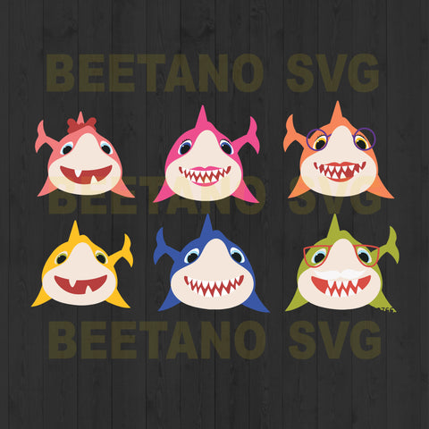 Baby Shark Bundle Svg