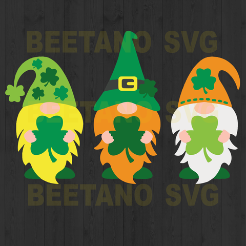 Gnomes st Patrick day
